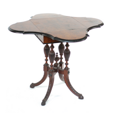 Load image into Gallery viewer, 19th Century Victorian Envelope Table - The Antique Guild