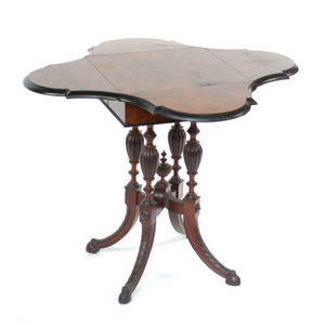 19th Century Victorian Envelope Table - The Antique Guild