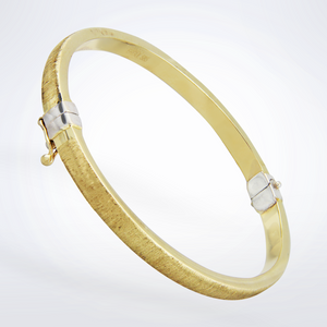 Brushed Gold Bracelet - The Antique Guild