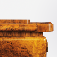 Load image into Gallery viewer, Art Deco Burl Walnut Bar by Jindrich Halabala