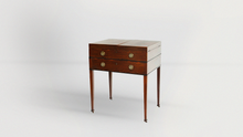 Load image into Gallery viewer, Gentleman's Mahogany Beau Brummell Dressing Table - The Antique Guild