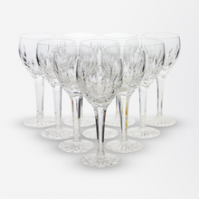 Load image into Gallery viewer, Set of Ten Waterford Wine Glasses in the Lismore Pattern