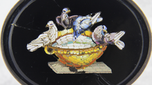 Load image into Gallery viewer, Micromosaic Bird Brooch - The Antique Guild
