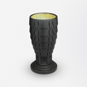 Geometric Art Deco Vase by French Maker Mougin Freres