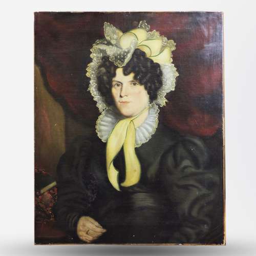 Unframed Portrait of a Woman - The Antique Guild