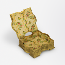Load image into Gallery viewer, Ormolu Box with Miniature Portrait