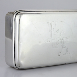 Sterling Box by Tiffany & Co. - The Antique Guild