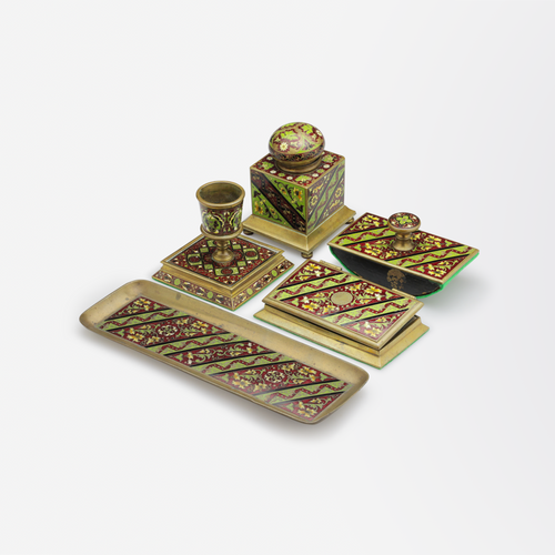 Late 19th Century Russian Desk Set