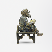 Load image into Gallery viewer, Cold Painted Austrian Bronze of Middle Eastern Man