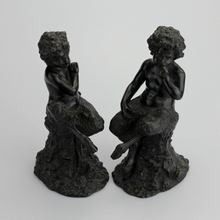 Load image into Gallery viewer, Pair of 19th Century Bronze Satyrs - The Antique Guild