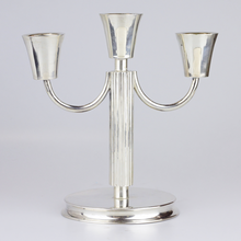 Load image into Gallery viewer, Pair of German .800 Continental Silver Candelabras