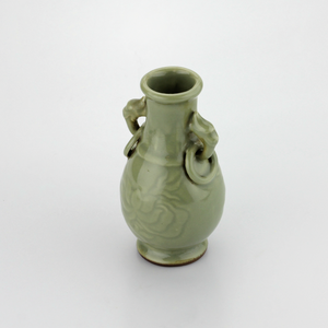 1920s Celadon Vase - The Antique Guild