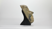 Load image into Gallery viewer, Decorative Bronze Chinese Mask with Stand - The Antique Guild