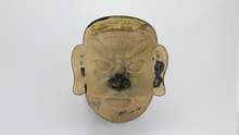 Load image into Gallery viewer, Decorative Bronze Chinese Mask with Stand