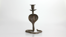 Load image into Gallery viewer, Pair of Brass Cobra Candle Holders - The Antique Guild