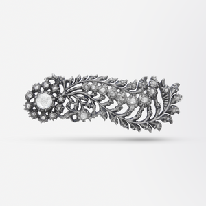 Dutch 'Comet' Diamond Brooch