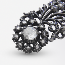 Load image into Gallery viewer, Dutch 'Comet' Diamond Brooch
