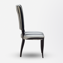 Load image into Gallery viewer, Set of Four Ebonised Art Deco Dining Chairs