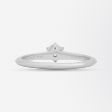 Load image into Gallery viewer, Platinum and Solitaire Diamond Ring by Tiffany and Company