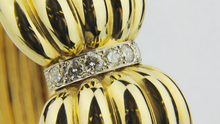 Load image into Gallery viewer, 14kt Gold and Diamond Cocktail Bracelet