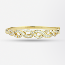 Load image into Gallery viewer, 18k Gold Diamond Bracelet