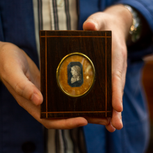 Load image into Gallery viewer, Pair of Cropped Miniature Portraits Circa 1800