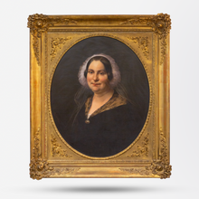 Load image into Gallery viewer, 19th Century Portrait of a Dutch Lady