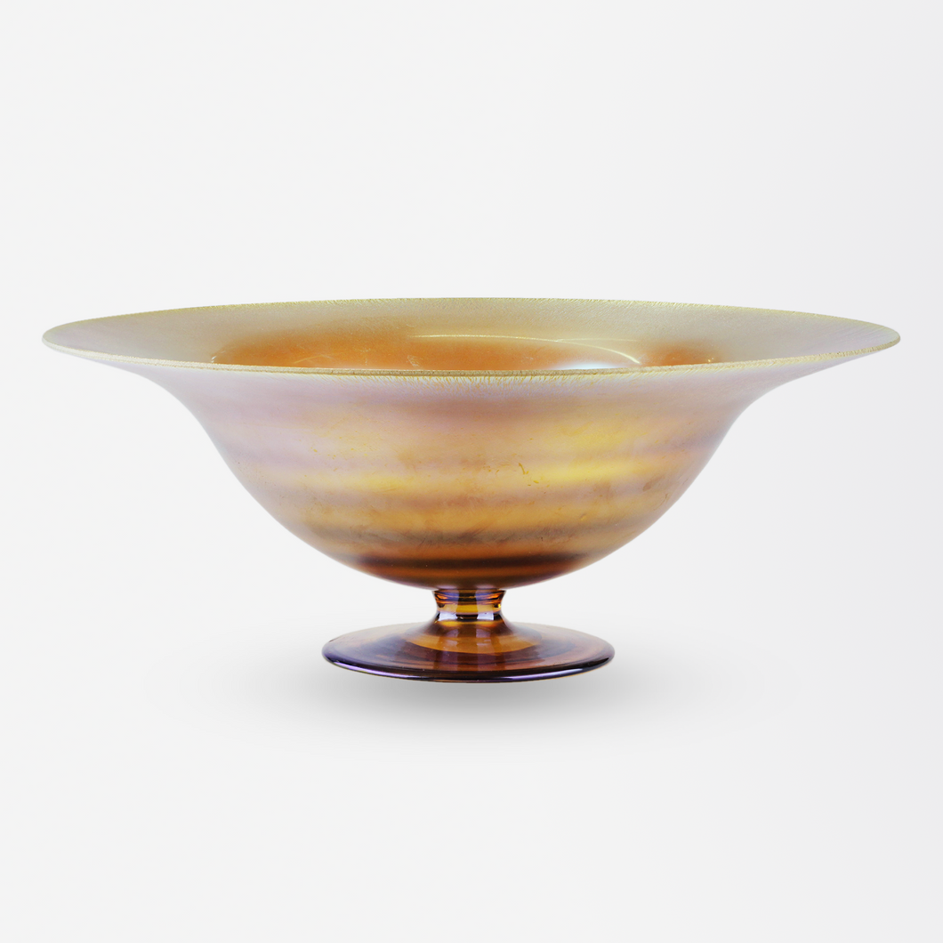 Tiffany Studios Favrile Glass Bowl