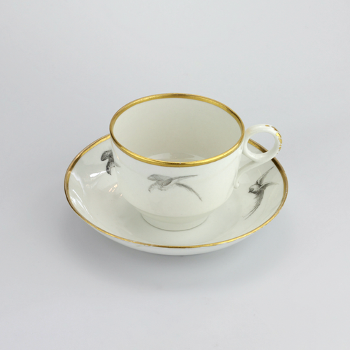 Barr Flight & Barr Tea Cup and Saucer - The Antique Guild