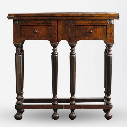 Italian 17th Century Flip Top Table
