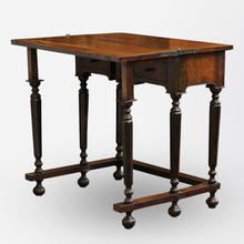 Load image into Gallery viewer, Italian 17th Century Flip Top Table