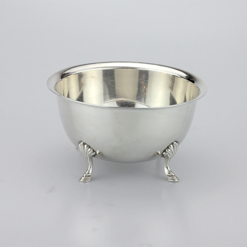 Sterling Footed Paul Revere Bowl - The Antique Guild