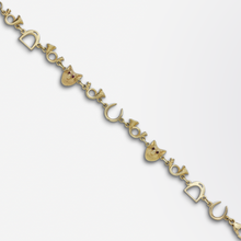 Load image into Gallery viewer, 14kt Gold Hunting Bracelet