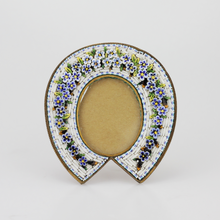 Load image into Gallery viewer, Small Micromosaic Horseshoe Frame - The Antique Guild