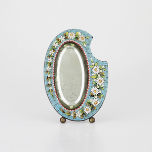 Micromosaic Mirror Frame - The Antique Guild