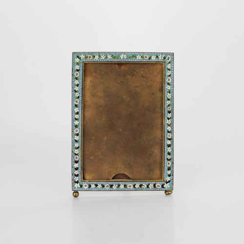 Square Micromosaic Picture Frame - The Antique Guild