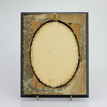Load image into Gallery viewer, 19th Century Framed Miniature Portrait on Porcelain by Franz Till - The Antique Guild