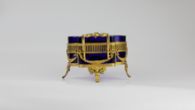 Load image into Gallery viewer, Gilt Silver and Glass Centerpiece