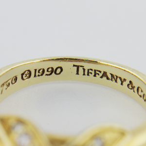 Tiffany & Co. Gold and Diamond RIng