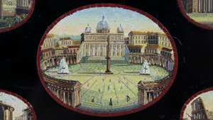 Grand Tour Micromosaic Plaque - The Antique Guild