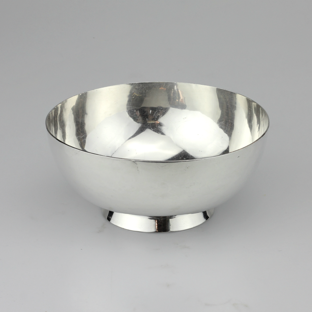Handwrought Sterling Bowl - The Antique Guild