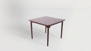 Model 9049 Breakfast Table by Josef Hoffmann from the Purkersdorf Sanatorium - The Antique Guild