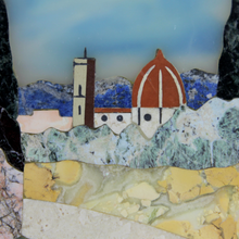 Load image into Gallery viewer, Framed Pietra Dura Landscape by G. Ugolini - The Antique Guild