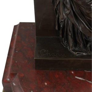 French Bronze by Henri Chapu for Tiffany and Co. circa 1900 - The Antique Guild