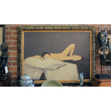 Load image into Gallery viewer, Nude Oil Painting by M. Zalone - The Antique Guild