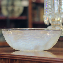 Load image into Gallery viewer, 'Dauphin' Opalescent Glass Bowl by Rene Lalique - The Antique Guild