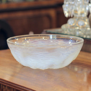 'Dauphin' Opalescent Glass Bowl by Rene Lalique - The Antique Guild
