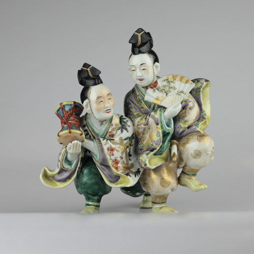 Japanese Porcelain Figure - The Antique Guild