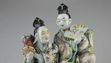 Load image into Gallery viewer, Japanese Porcelain Figure - The Antique Guild