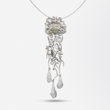 Load image into Gallery viewer, 'Jellyfish' Brooch Necklace by Alessio Boschi for Autore